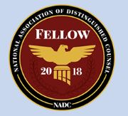 National Association of Distinguished Counsel - Fellow 2018